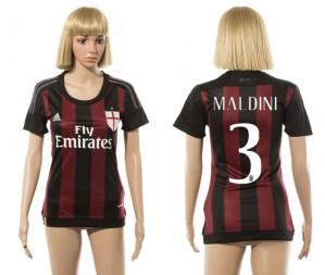 Camiseta nueva AC Milan Mujer 3 2015/2016