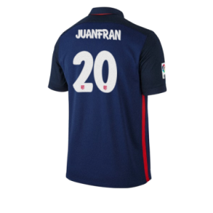 Camiseta del JUANFRAN Atletico Madrid Segunda Equipacion 2015/2016