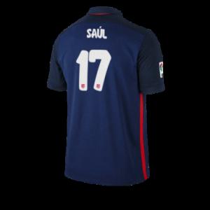 Camiseta nueva Atletico Madrid SAUL Equipacion Segunda 2015/2016