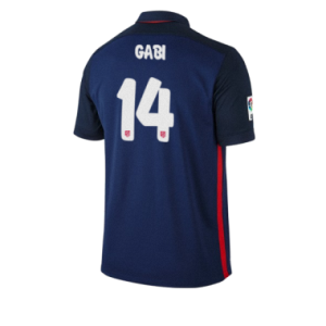 Camiseta nueva Atletico Madrid GABI Equipacion Segunda 2015/2016