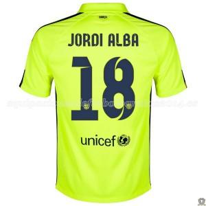 Camiseta del Jordi Alba Barcelona Tercera 2014/2015