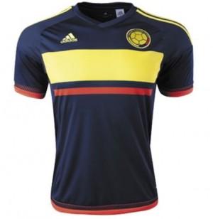Camiseta nueva Colombia Tailandia Segunda 15/16