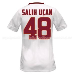 Camiseta del Salihucan AS Roma Segunda Equipacion 2014/2015