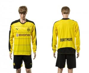 Camiseta Dortmund Primera Manga Larga 15/16