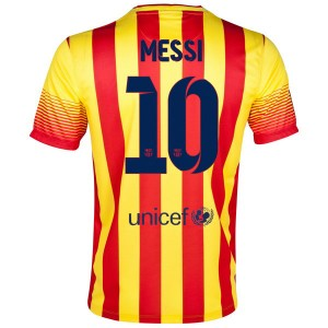 Camiseta de Barcelona 2013/2014 Segunda Messi