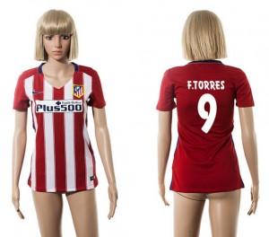 Camiseta de Atletico Madrid 2015/2016 9 Mujer
