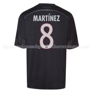 Camiseta nueva Bayern Munich Martinez Equipacion Tercera 2014/2015