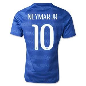 Camiseta Brasil de la Seleccion Neymar JR Segunda WC2014