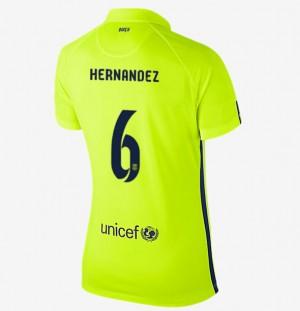 Camiseta nueva del Barcelona 2013/2014 Equipacion Mujer Segunda