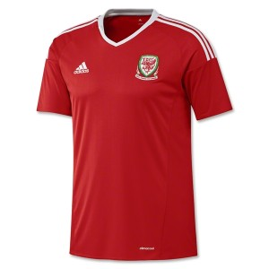 Camiseta nueva Gales 2016/2017