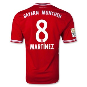 Camiseta nueva del Bayern Munich 2013/2014 Martinez Primera