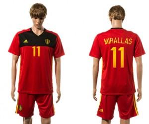 Camiseta nueva Belgium 11# 2015-2016