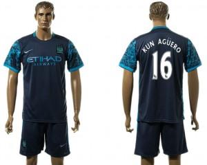 Camiseta del 16# Manchester City Away