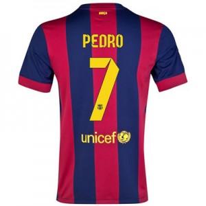 Camiseta nueva Barcelona PEDRO Equipacion Primera 2014/2015