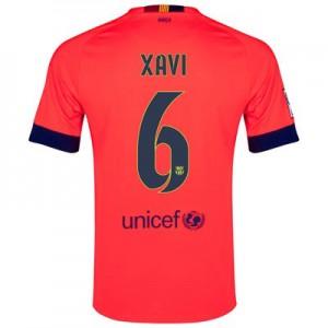 Camiseta nueva Barcelona XAVI Equipacion Segunda 2014/2015