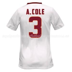 Camiseta AS Roma A.Cole Segunda Equipacion 2014/2015
