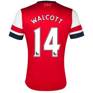 Camiseta del Walcott Inglaterra de la Seleccion Primera 2013/2014