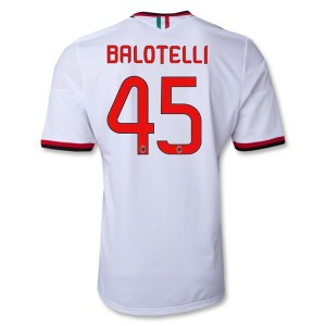 Camiseta del Balotelli AC Milan Segunda Equipacion 2013/2014