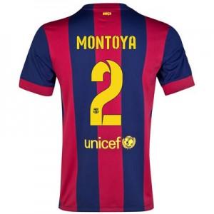 Camiseta del MONTOYA Barcelona Primera Equipacion 2014/2015