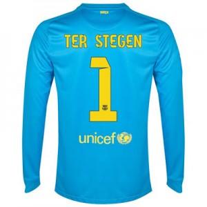 Camiseta Portero nueva del Barcelona 2014/2015 Equipacion Stegen Segunda