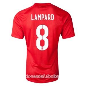Camiseta Inglaterra de la Seleccion Lampard Segunda WC2014