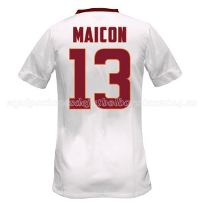 Camiseta del Maicon AS Roma Segunda Equipacion 2014/2015