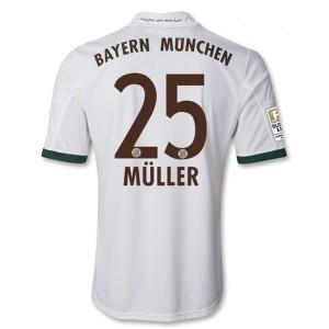 Camiseta nueva Bayern Munich Muller Equipacion Tercera 2013/2014