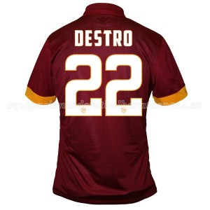 Camiseta del Destro AS Roma Primera Equipacion 2014/2015