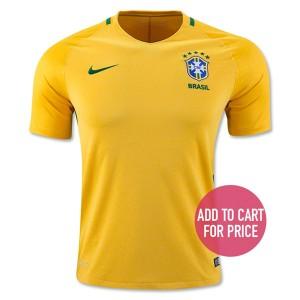 Camiseta de Brasil 2016 Home