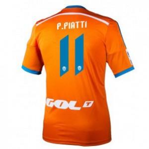 Camiseta Valencia Pablo Piatti Segunda Equipacion 2014/2015