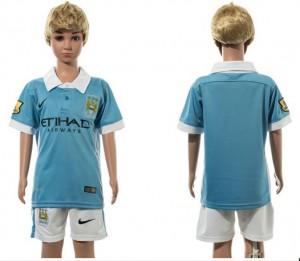 Camiseta nueva Manchester City Ni?os 1# 2015/2016