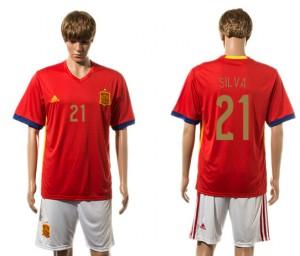 Camiseta del 21# España 2015-2016
