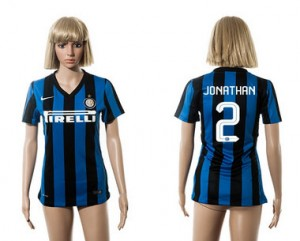 Camiseta nueva Inter Milan Mujer 2 2015/2016