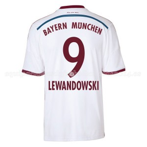 Camiseta Bayern Munich Lewandowski Segunda Equipacion