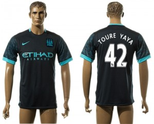 Camiseta del 42# Manchester City Away aaa version