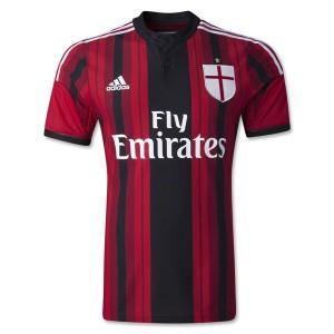 Camiseta nueva AC Milan Tailandia Primera 2014/2015