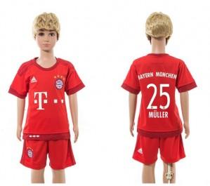 Camiseta de Bayern Munich 2015/2016 Home 25 Ni?os