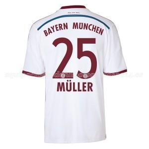 Camiseta de Bayern Munich 2014/2015 Segunda Muller Equipacion