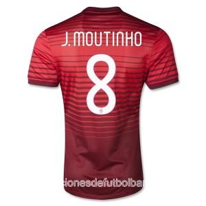Camiseta nueva del Portugal de la Seleccion 2013/2014 J Moutinho Primera
