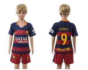 Camiseta nueva Barcelona Ni?os 9 Home 2015/2016