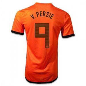 Camiseta nueva del Holanda de la Seleccion 2012/2014 V.Persie Primera