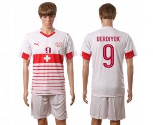 Camiseta del Nombre DERDIYOK Suiza 2016/2017