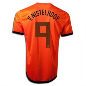 Camiseta del V.Nistelrooy Holanda de la Seleccion Primera 2012/2014