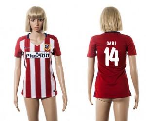 Camiseta nueva del Atletico Madrid 2015/2016 14 Mujer