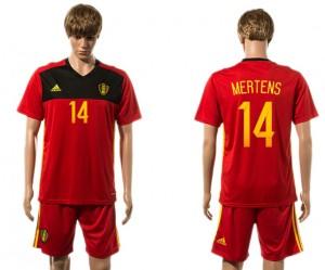 Camiseta nueva del Belgium 2015-2016 14#