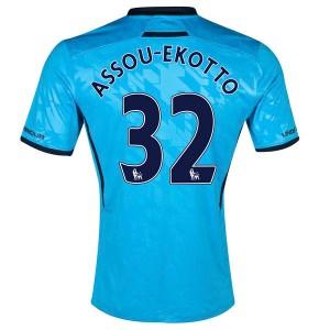 Camiseta del Assou Ekotto Tottenham Hotspur Segunda 2013/2014