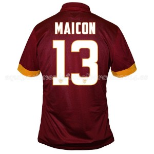 Camiseta AS Roma Maicon Primera Equipacion 2014/2015