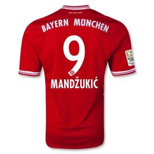 Camiseta de Bayern Munich 2013/2014 Primera Mandzukic