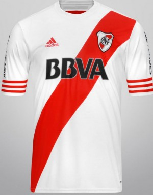 Camiseta del River Plate 2015