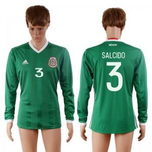 Camiseta de Mexico 2016-2017 3#